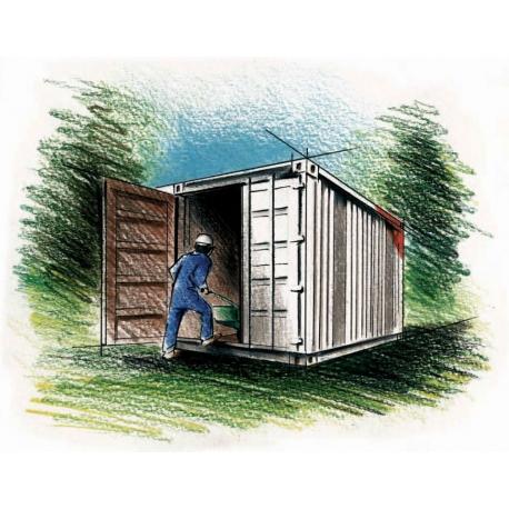 Container d'entreposage 8 '